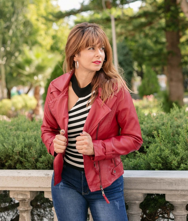 Jacket Zulin - Red