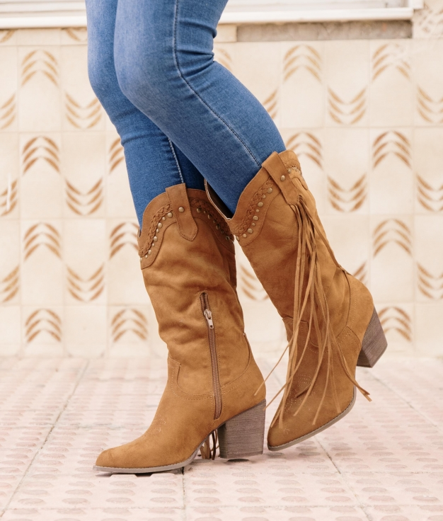 Knee-length Boot Consil - Camel