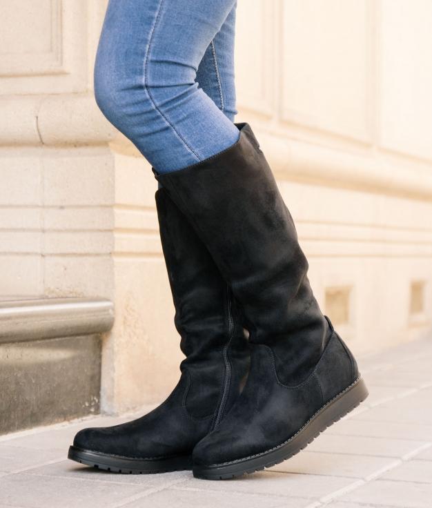 Knee-length Boot Marten - Black