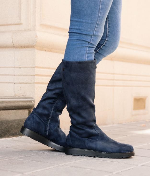Knee-length Boot Marten - Blue