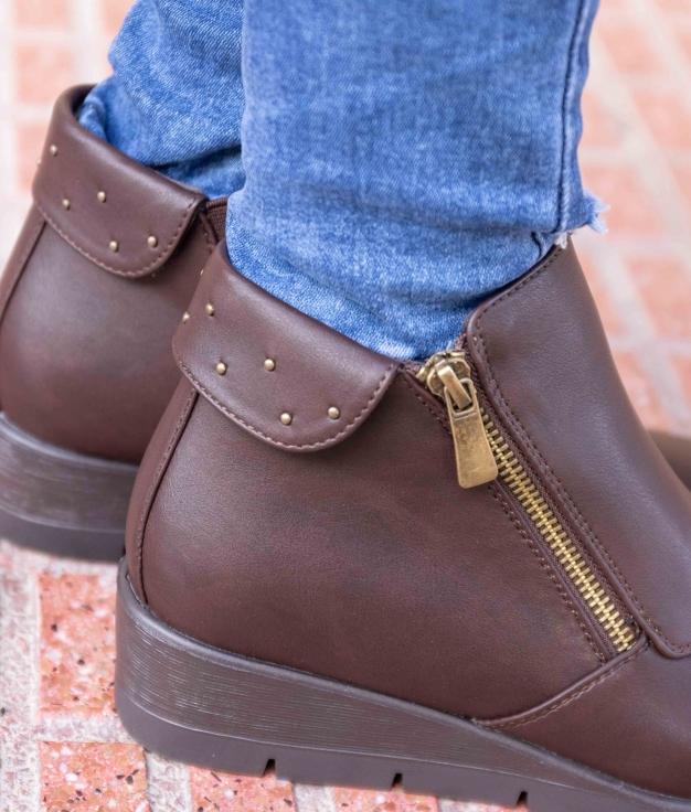 Low Boot Kiran - Brown