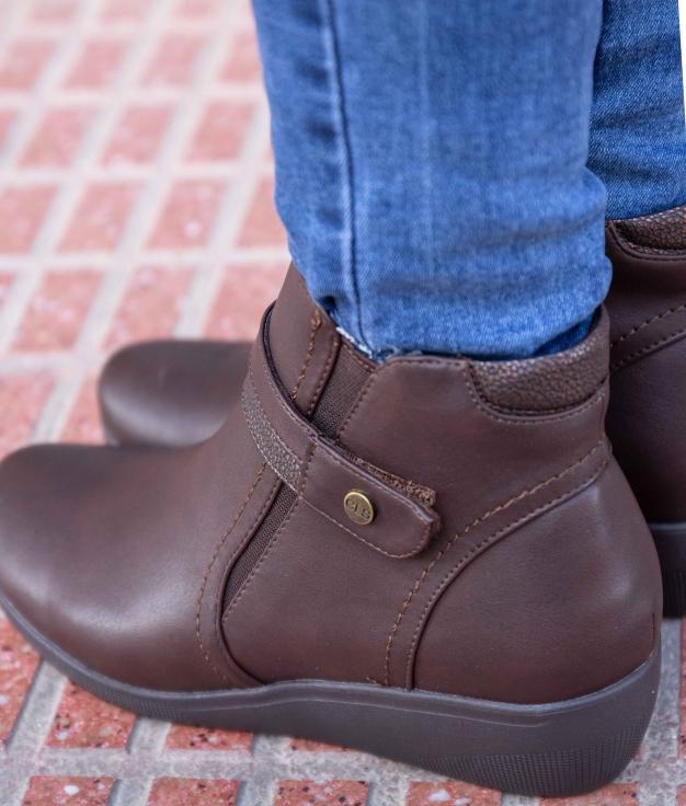 Low Boot Yrusta - Brown