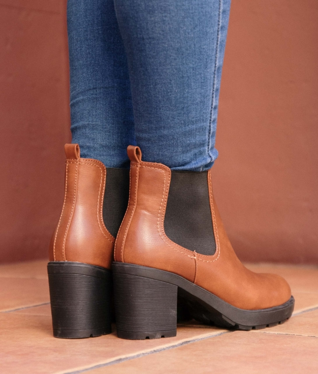 Low Boot Trends - Camel