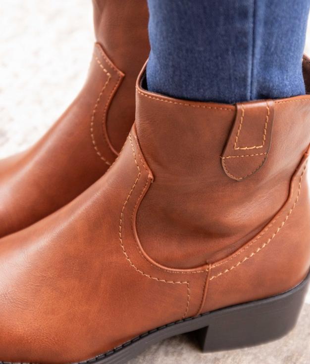 Low Boot Liran - Camel