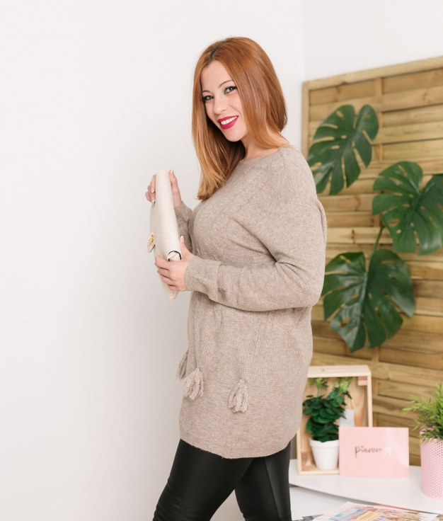Sweater Nicar - Taupe