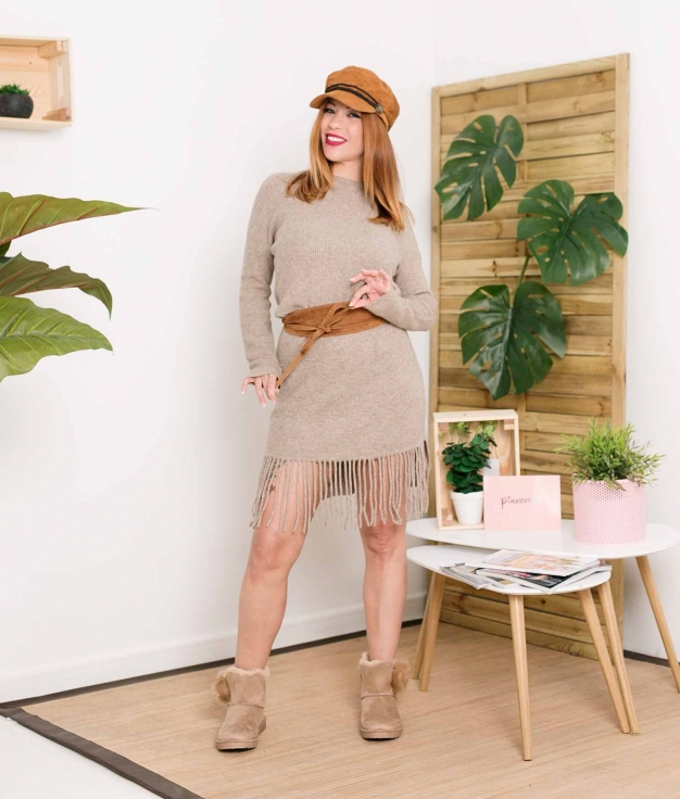 Dress Gully - Taupe