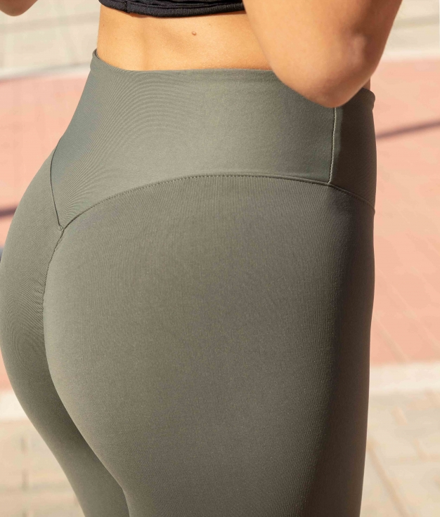 Leggins Frunch - Khaki