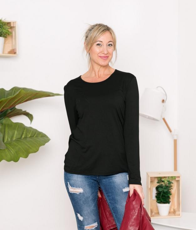 Camiseta Yertus - Negro
