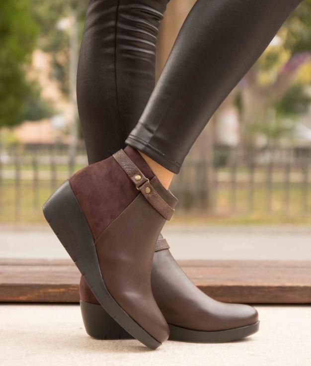 Low Boot Cleta - Brown