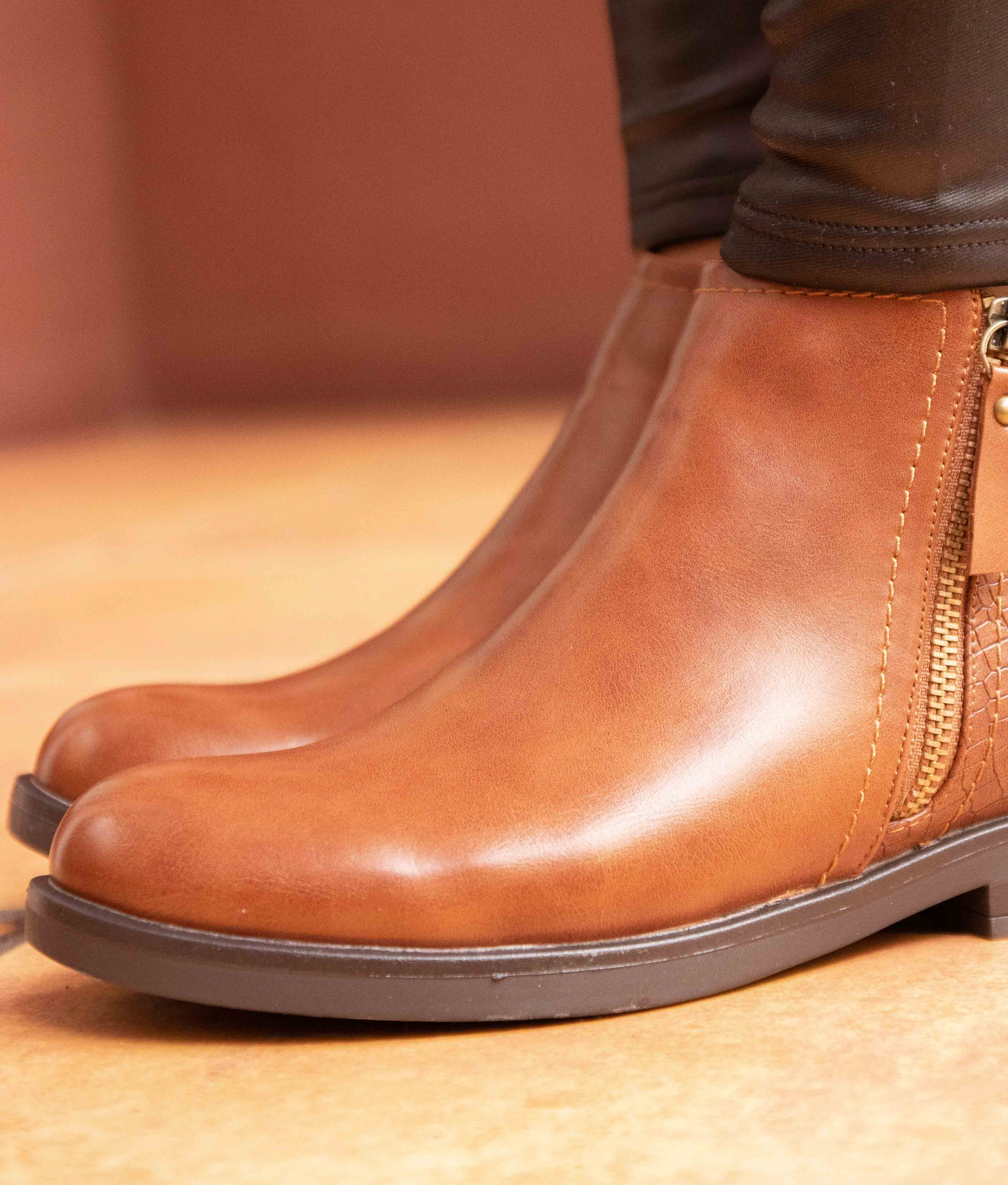 Boot Petite Carton - Chameau