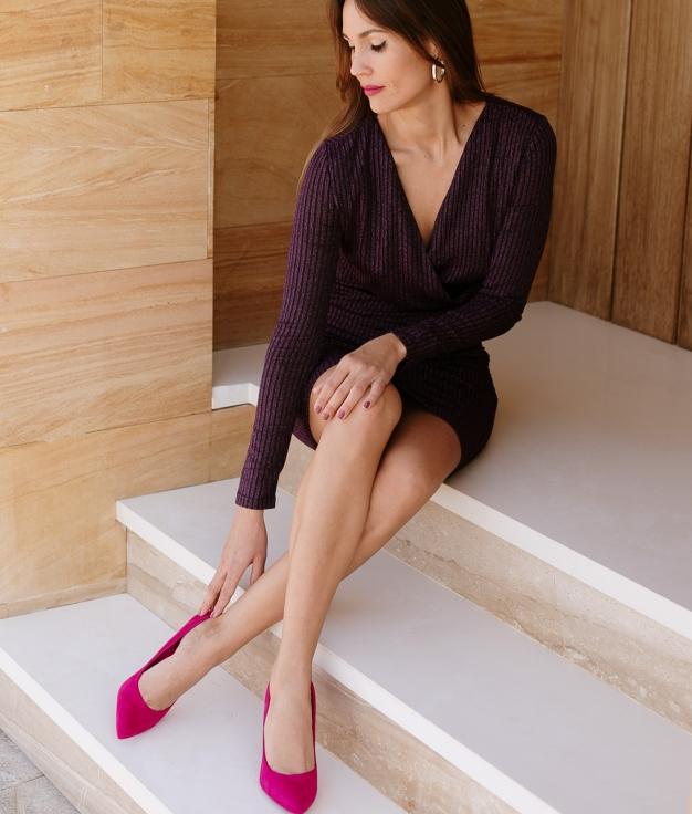 Dress Pincle - Purple