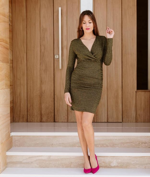 Dress Pincle - Golden