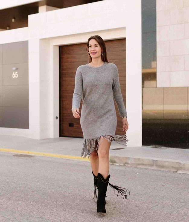 Dress Gully - Grey