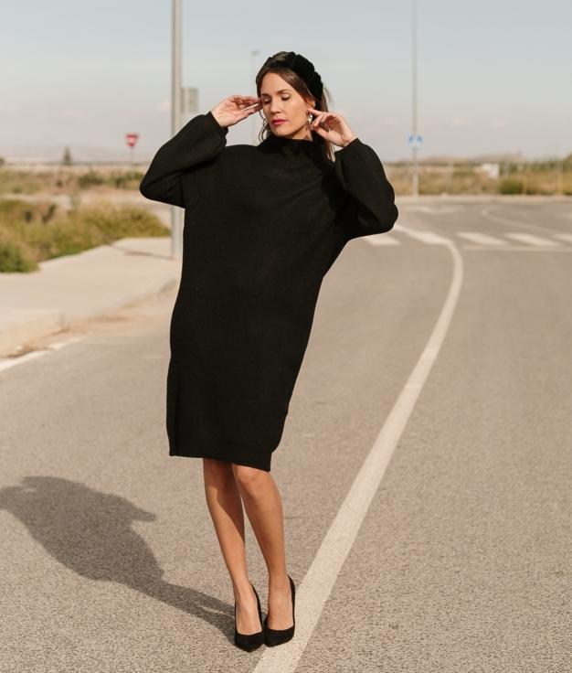 Vestido Plixe - Negro