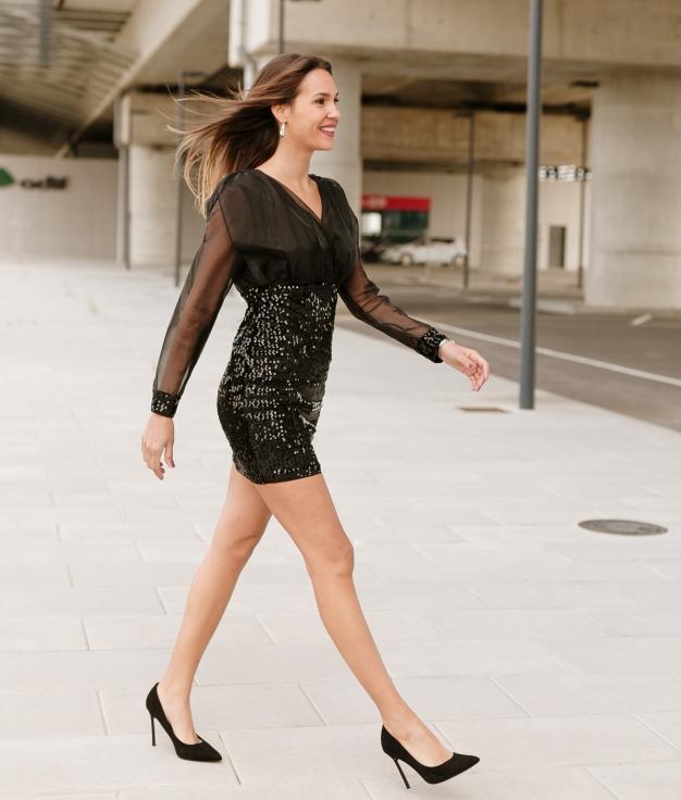 Dress Seron - Black