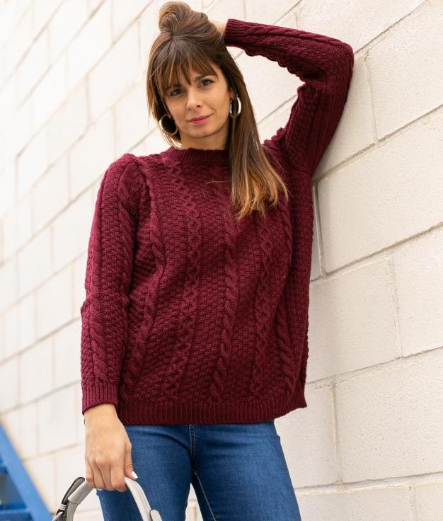 Sweater Tardol - Maroon