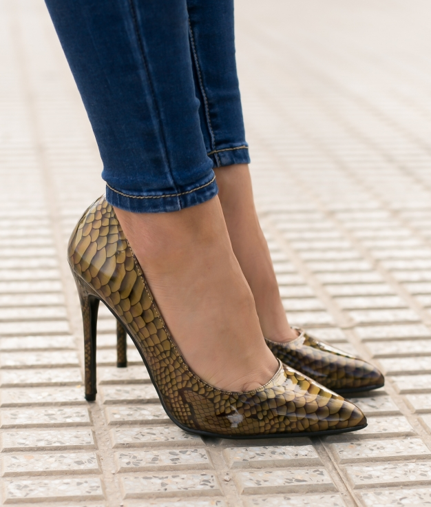 High Heel Tiure - Golden