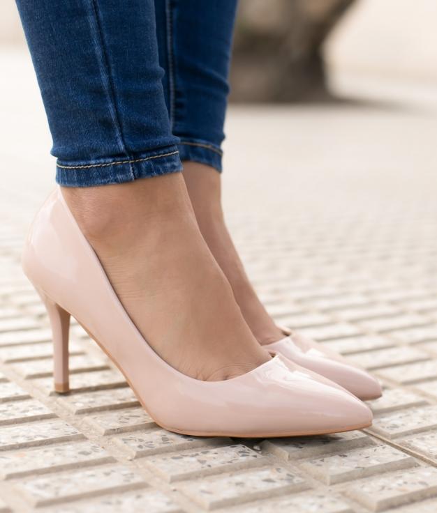 Sapato de Salto Kuren - Rosa