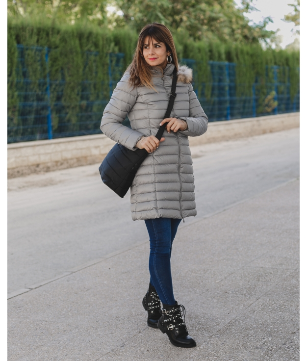 Coat Parison - Grey