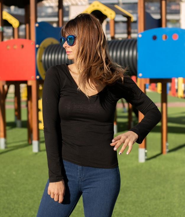 Camiseta Bacal - Negro