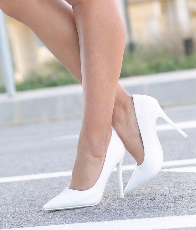 Scarpe Alto Salone - Bianco