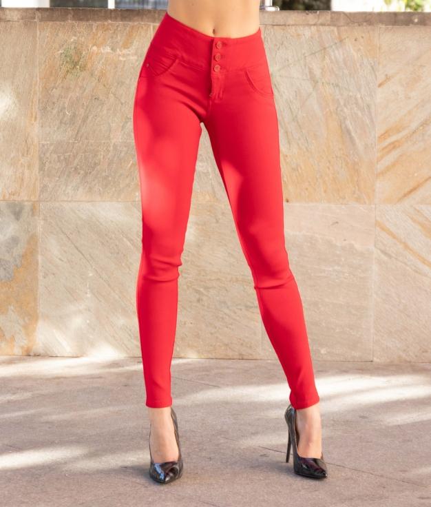 Pantalon Tarun - Rouge