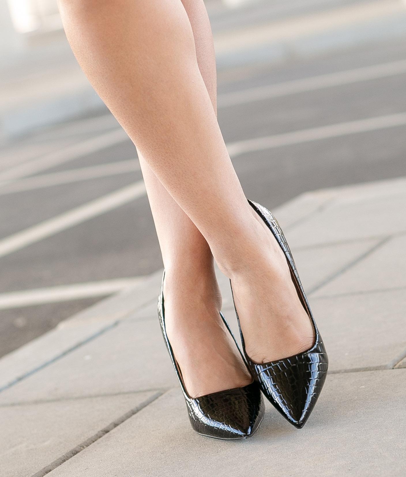 High Heel Salone - Black