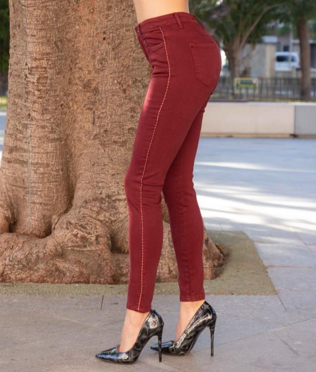 Pantalon Latril - Grenat