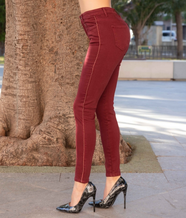 Trousers Latril - Maroon