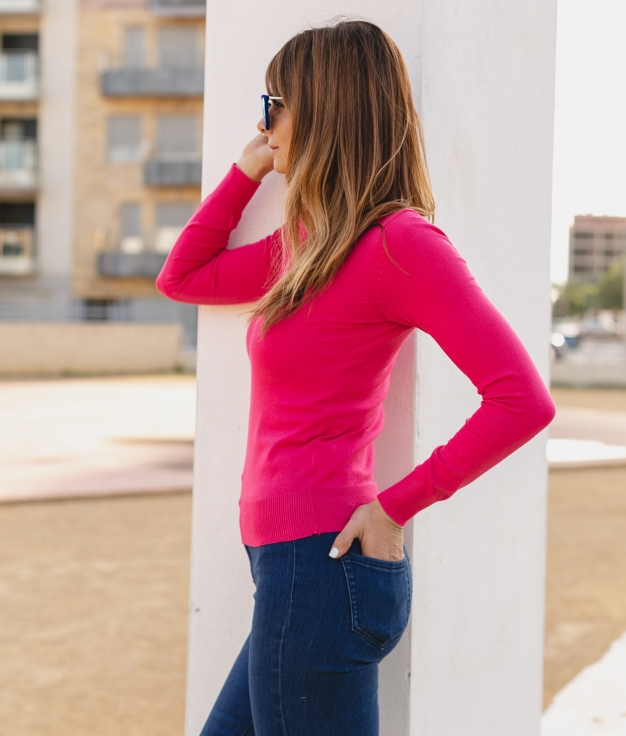 Sweater Calter - Fuchsia