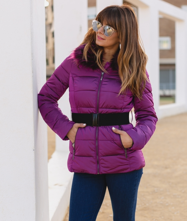 Coat Zoran - Purple