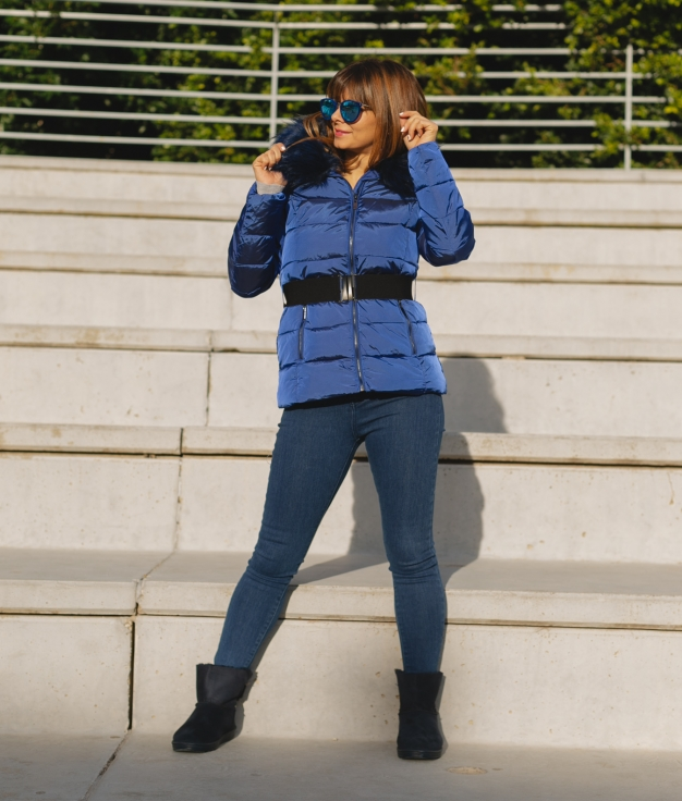 Chaqueta Zoran - Azul Klein