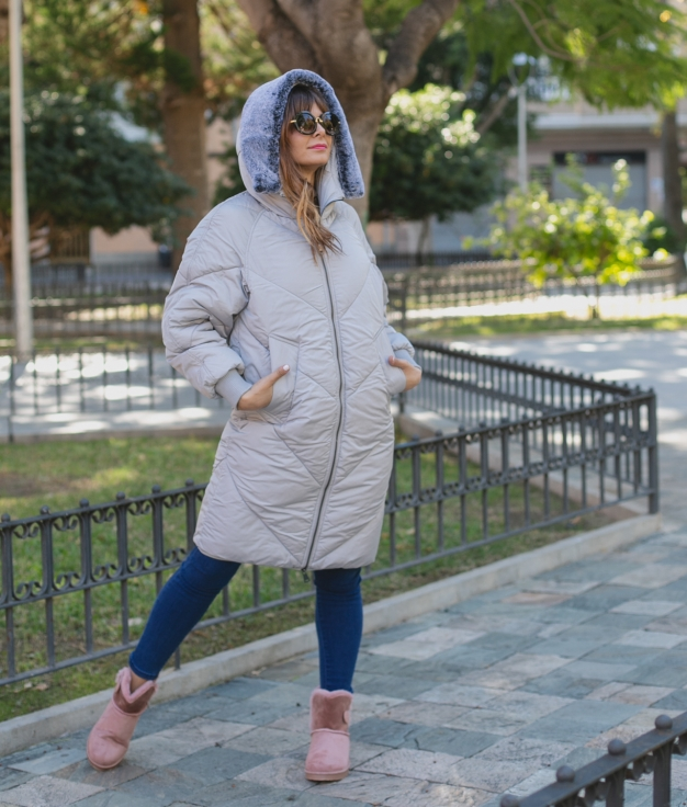 Coat Xieste - Grey