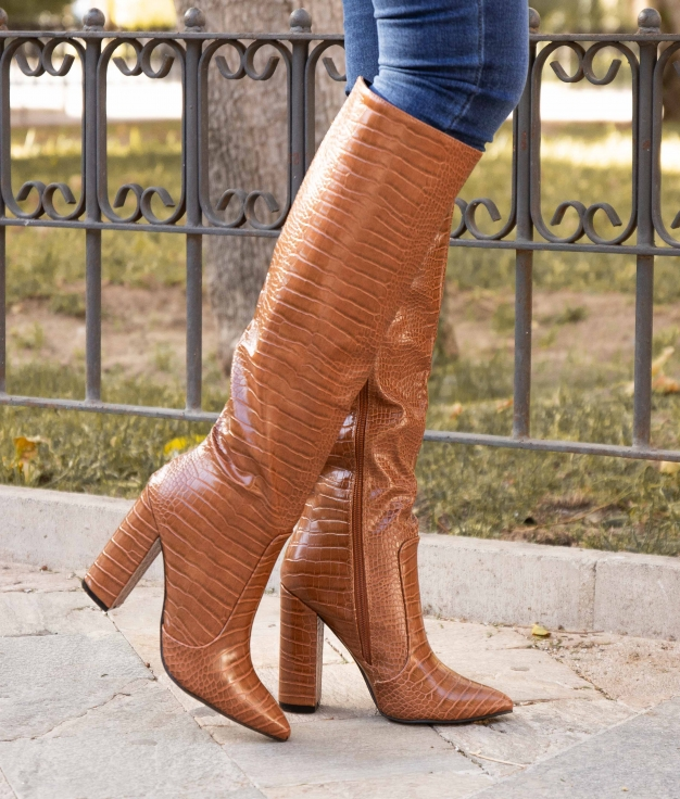 Knee-length Boot Corco - Camel