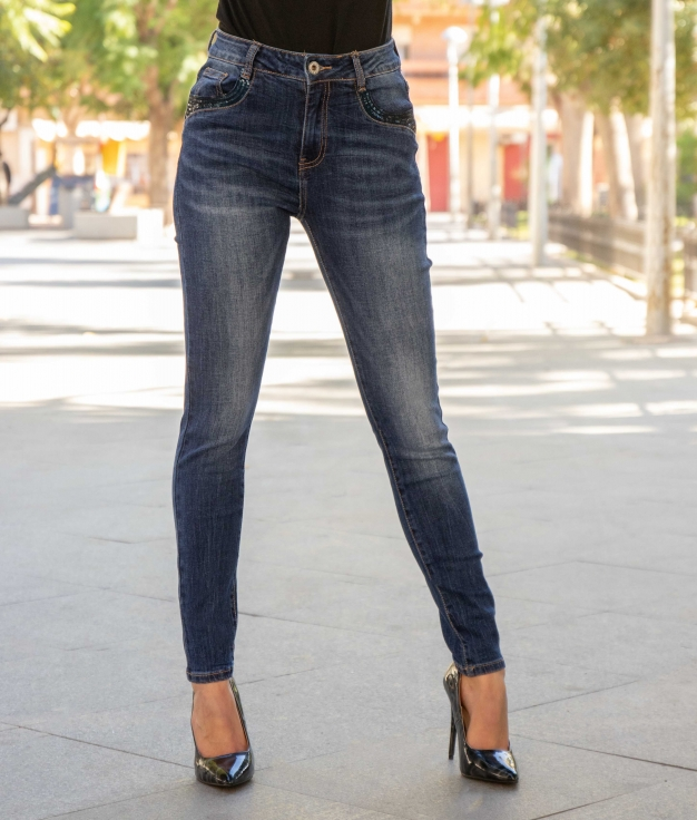 Pantaloni Trasme - Denim