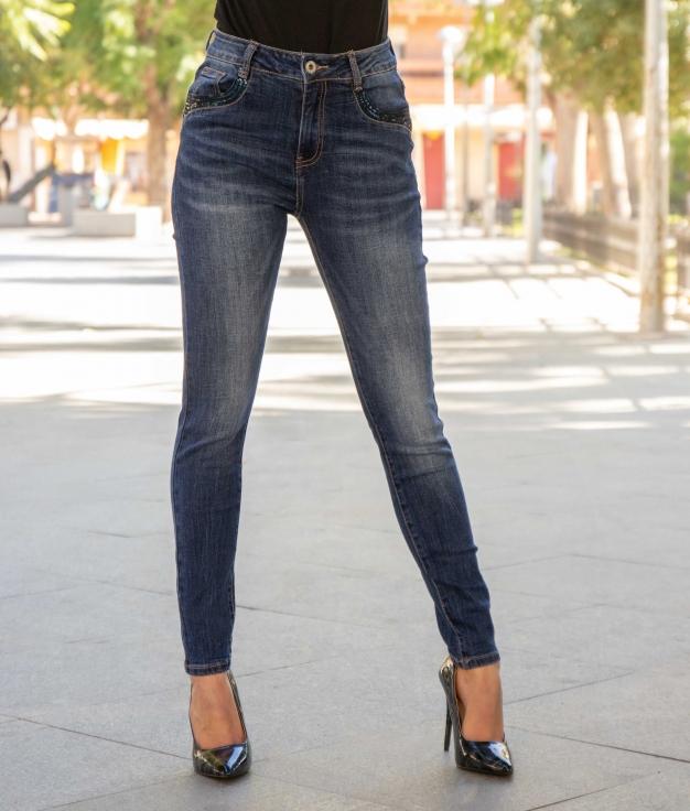 Trousers Trasme - Denim