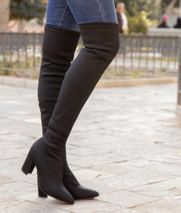 Stivali Alta Uyela - Nero
