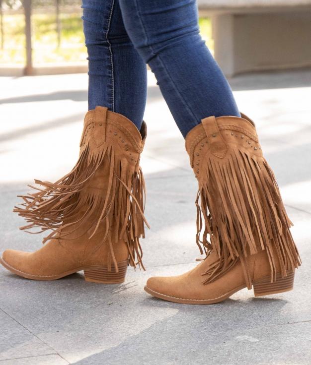 Knee-length Boot Leris - Camel