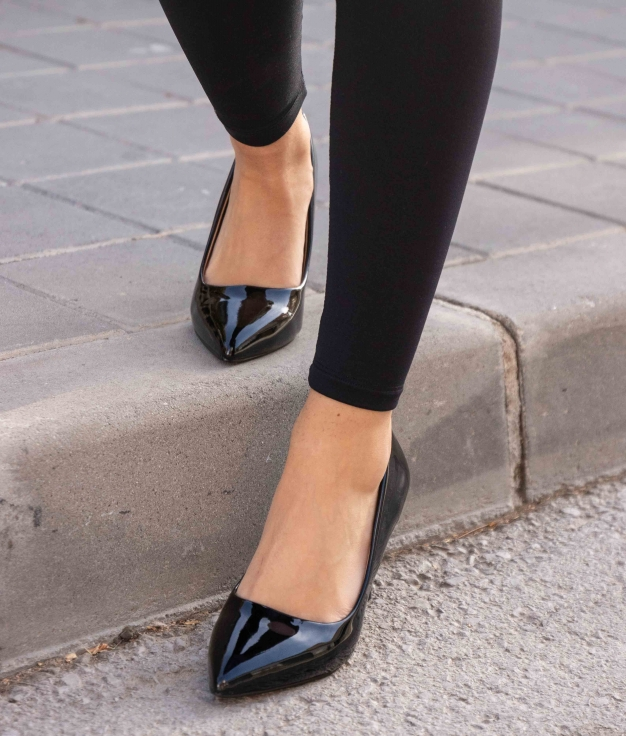 Sapato de Salto Kuren - Preto