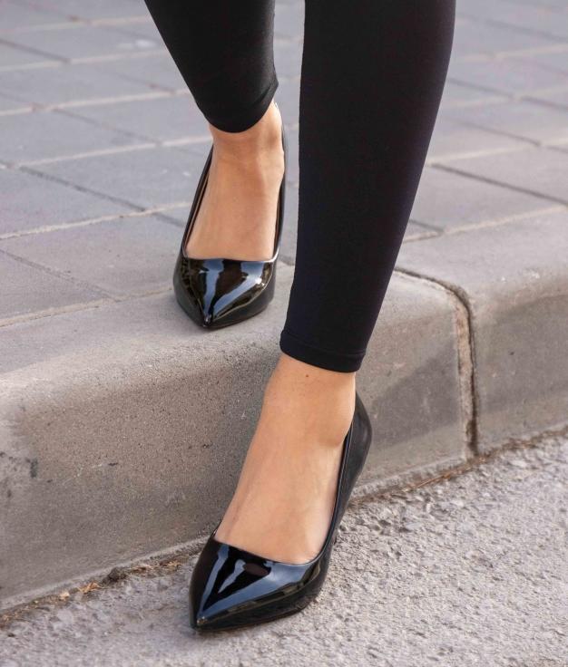 Zapato de Tacón Kuren - Negro