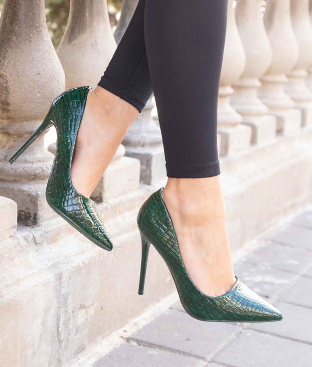 Zapato de Tacón Salone - Verde