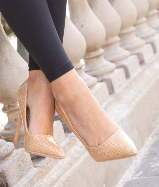 High Heel Salone - Beige
