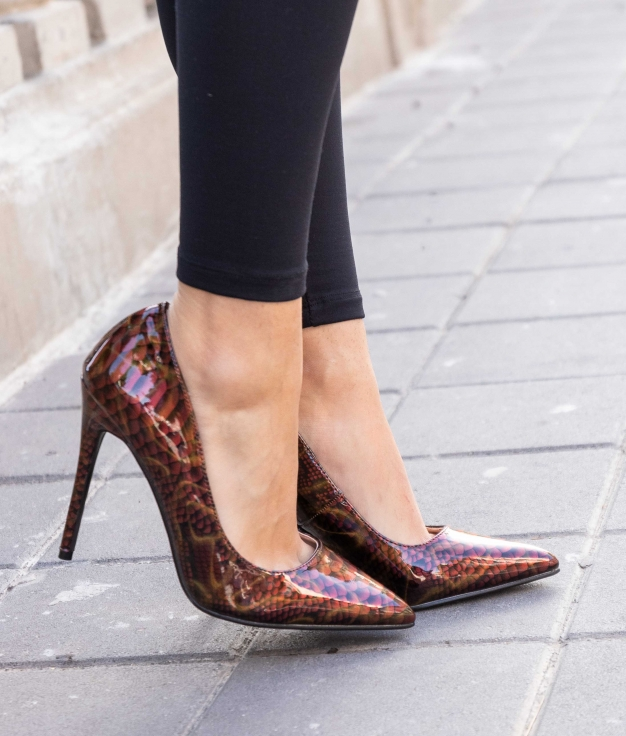 Zapato de Tacón Tiure - Rojo