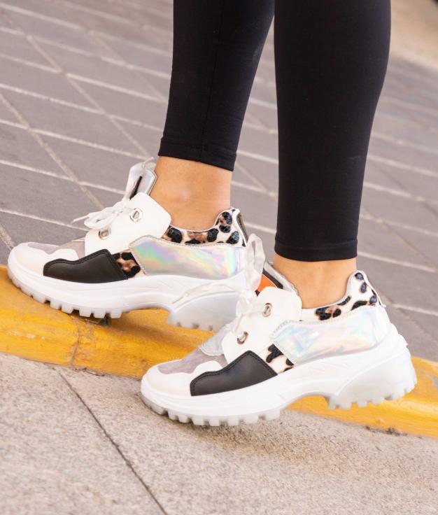 Sneakers Pumba - Blanc