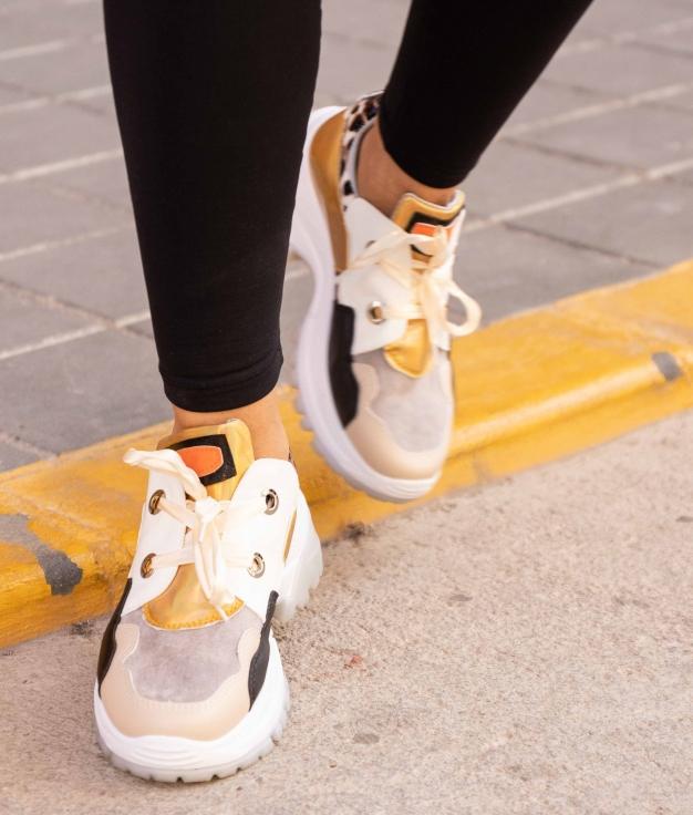 Sneakers Pumba - Beige