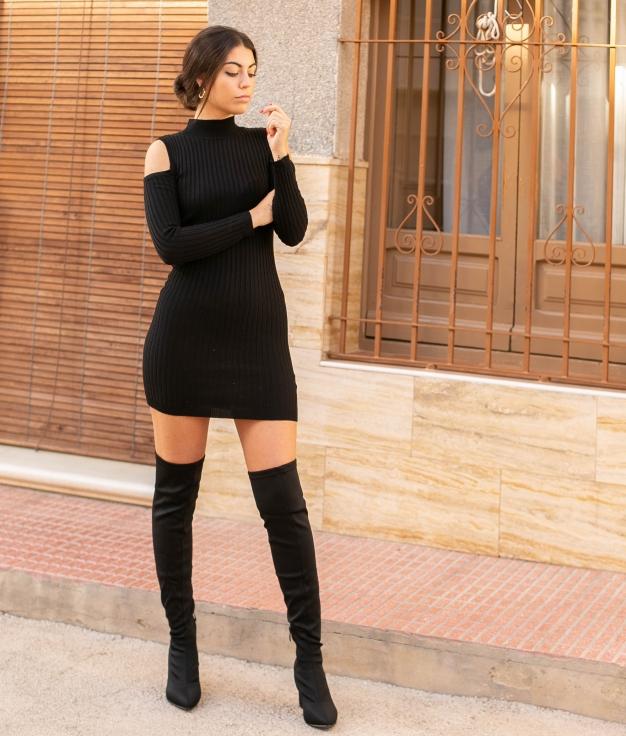 Dress Dascin - Black