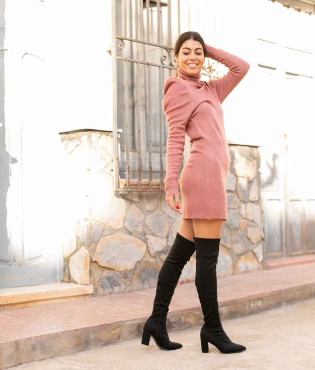 Vestido Creseto - Rosa