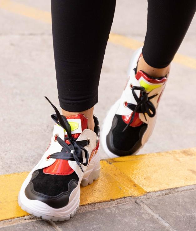 Sneakers Pumba - Preto