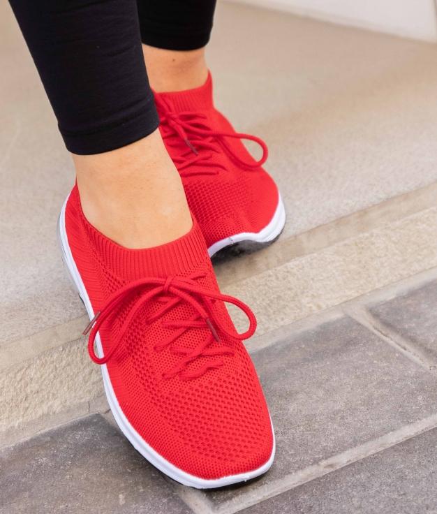 Sneakers Biton - Rosso