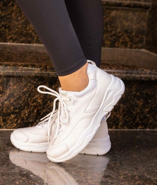 Sneakers Plazor - Blanc